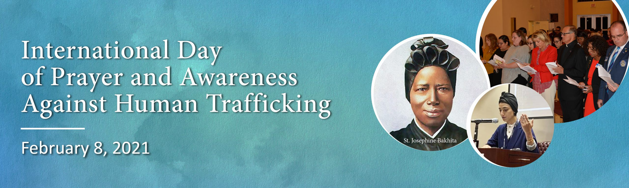 International Day of Prayer and Awareness Against Human Trafficking Event  Series - Human Trafficking Academy